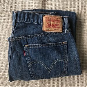 Levi's 559 Relaxed Straight Blue Jean 34x34